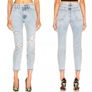 Rag and bone Madison hi rise ankle jeans